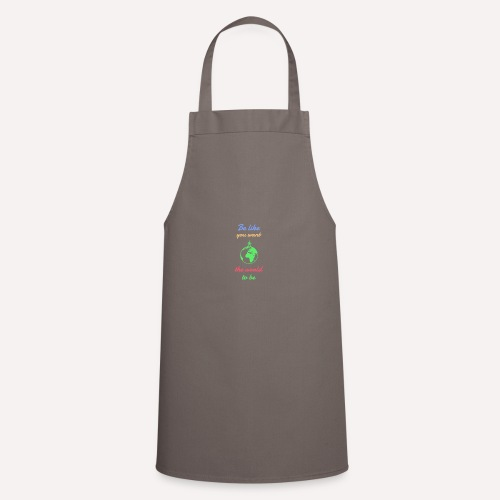 Caring About climate? Save The Planet Print Design - Cooking Apron