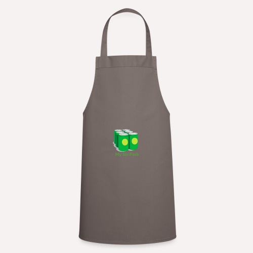 Want A Six Pack? Easy Six Pack Funny Apparel Print - Cooking Apron