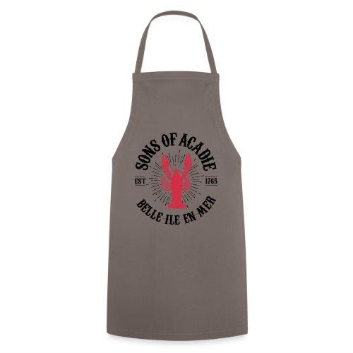 Sons of Acadie Homard Rouge et Noir - Tablier de cuisine