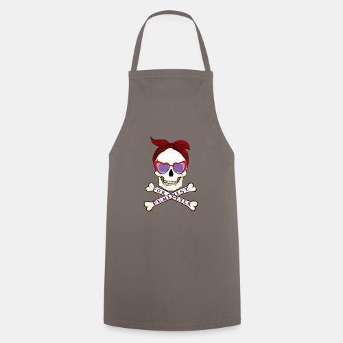 Feminist skull - Delantal de cocina