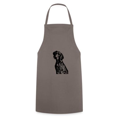 portrait of dog - Grembiule da cucina