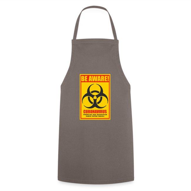 Be aware! Coronavirus biohazard