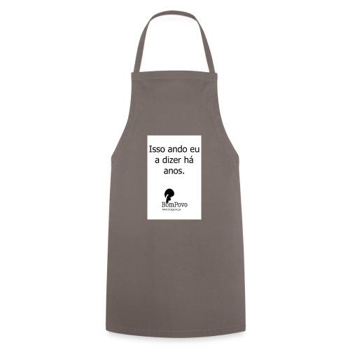issoandoeuadizerhaanos - Cooking Apron