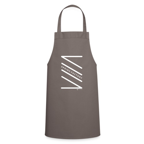 SPRING FACTORY WHITE - Cooking Apron