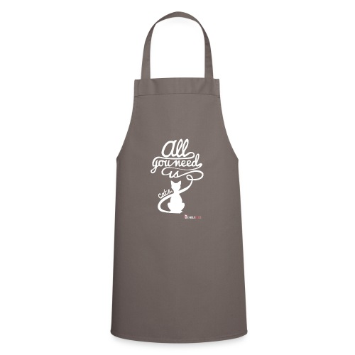 allyouneedblanco-png - Delantal de cocina