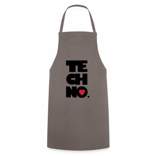 Techno Herz - Kochschürze