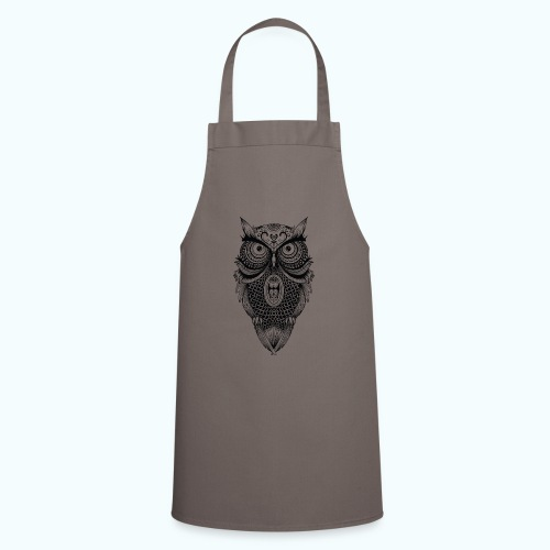 Mandala owl - Cooking Apron