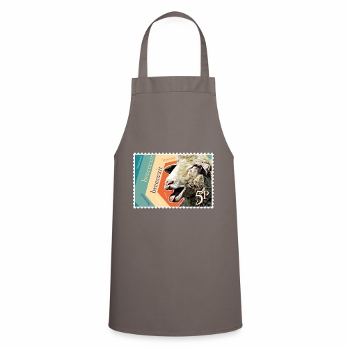 Brexit goat stamp - Cooking Apron