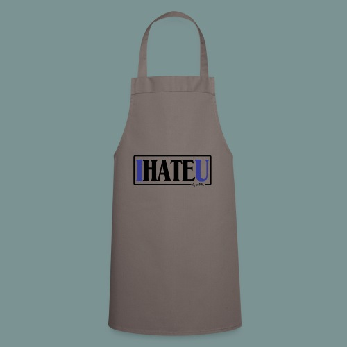 I HATE U by pEMIEL - Keukenschort