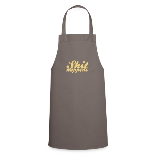 Shit Happens and Politics - Cooking Apron