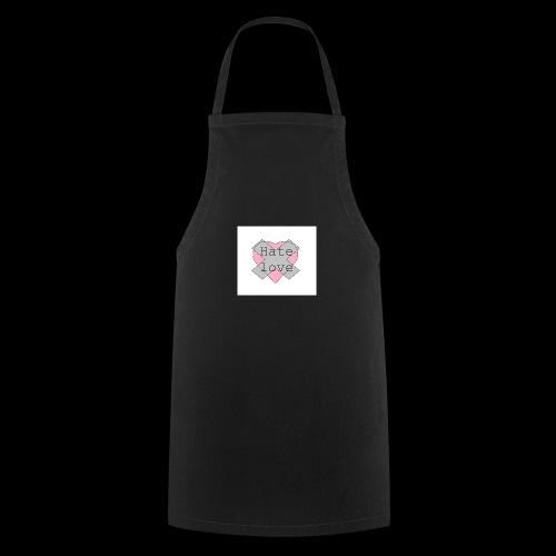 Hate love - Delantal de cocina