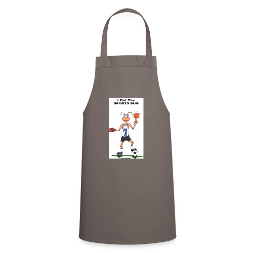 BACK SPORTS BUG COL - Cooking Apron
