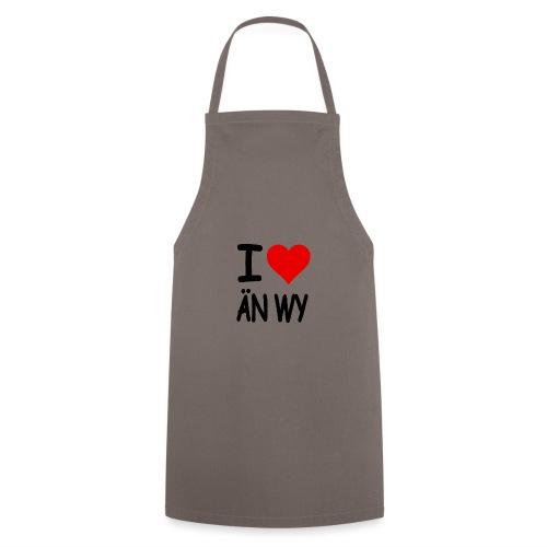 I Love ÄN WY lustige Alternative zum Bekannten - Kochschürze