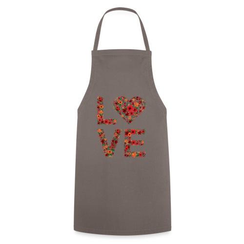 Die wichtigste Botschaft für unsere Welt: LOVE - Kochschürze