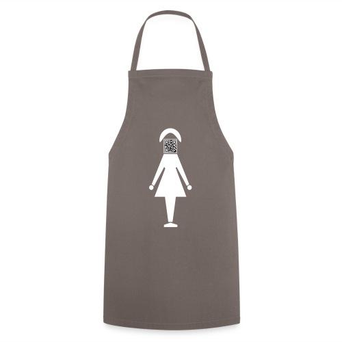 Barcode Woman - Kochschürze