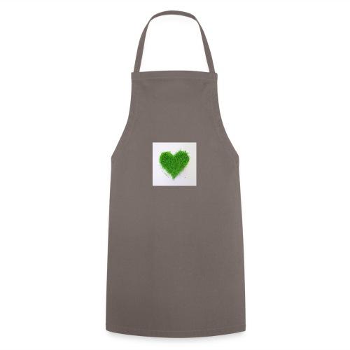 Herzrasen Button - Kochschürze