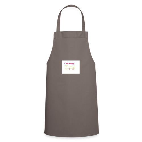 i am happy - Cooking Apron