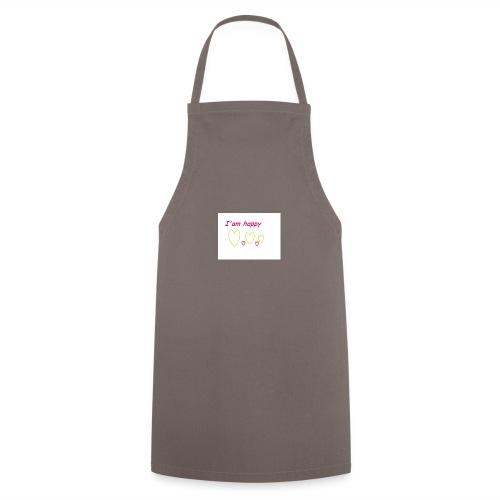 i am happy - Cooking Apron