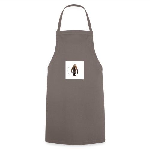 button hempel weiss - Kochschürze