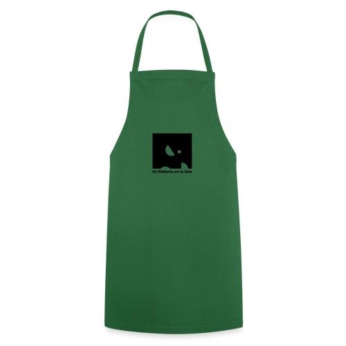 Logo Elefante Negro - Delantal de cocina