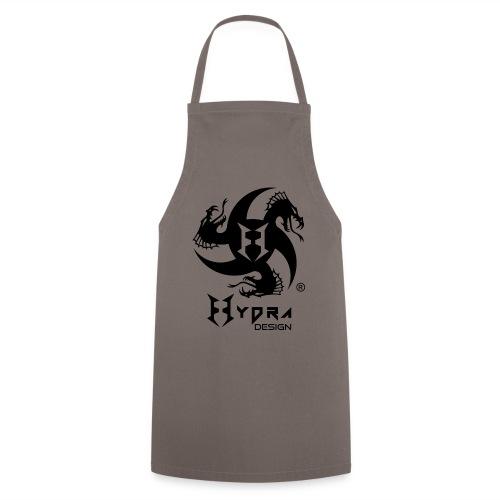 Hydra DESIGN - logo blk - Grembiule da cucina