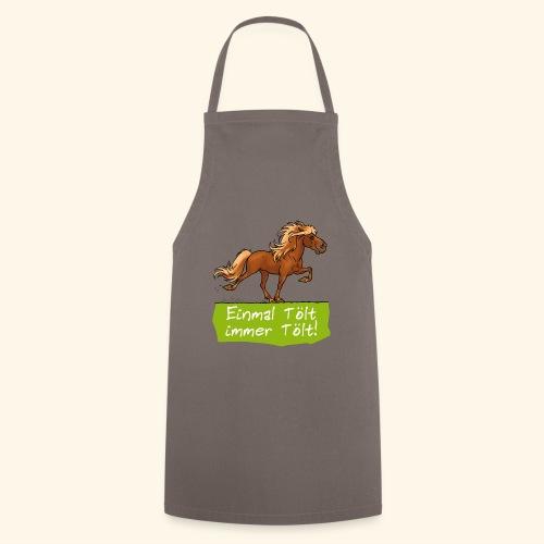Island Pferd Tölt - Tablier de cuisine