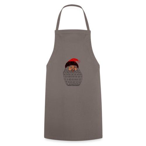 Papa Noël Isométrique - Tablier de cuisine