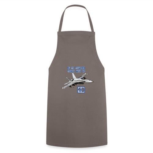 F18 más de 40 - Delantal de cocina