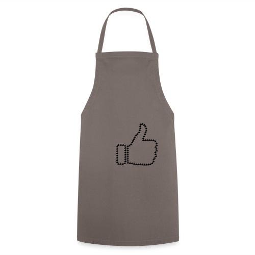 Zustimmung aus Daumen - Kochschürze