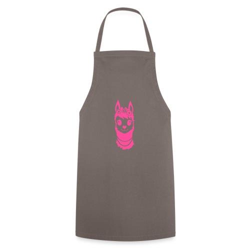Alpaca meisje met parels - Keukenschort