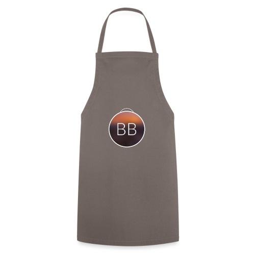 Blue Bros rund, mit Bild im Blur - Kochschürze