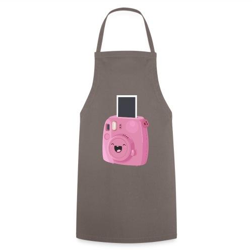 Appareil photo instantané rose - Tablier de cuisine