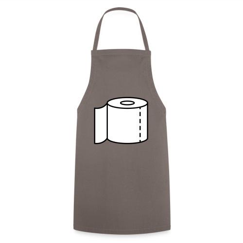 Klopapier für den Notfall - Kochschürze