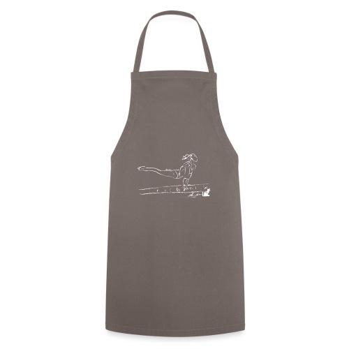 TRAVE BIANCA - Grembiule da cucina