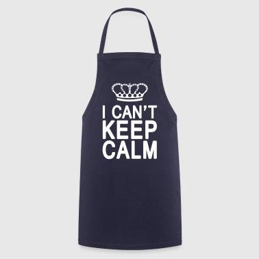 I CAN'T KEEP CALM (1c or 2c) - Kochschürze