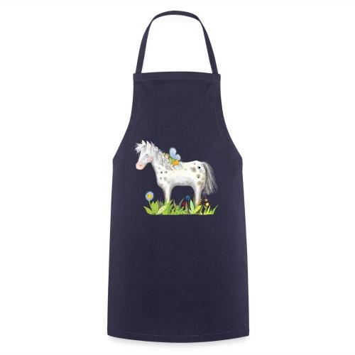 Fee. Das Pferd und die kleine Reiterin. - Kochschürze