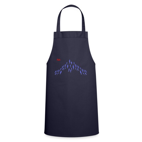 Violet Flying fish - Cooking Apron