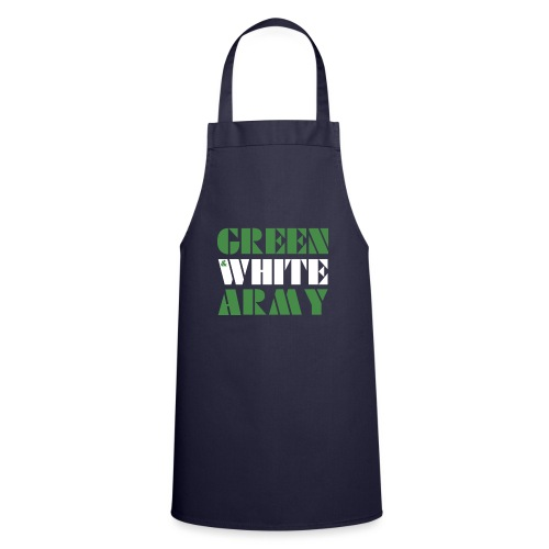 GREEN & WHITE ARMY - Cooking Apron