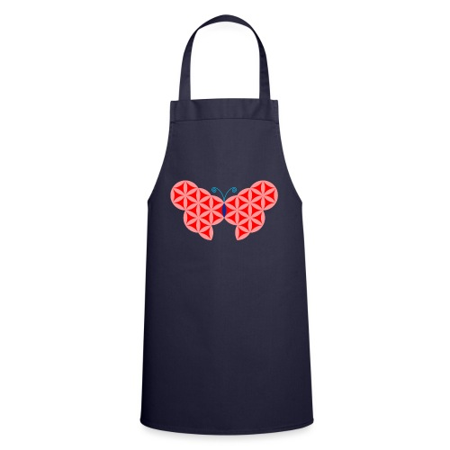 The Butterfly Of Life - Sacred Animals. - Cooking Apron