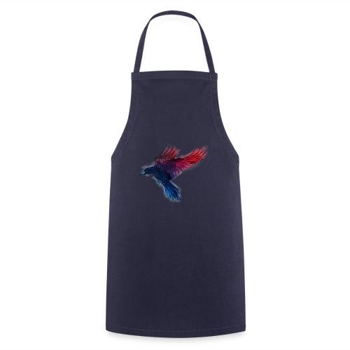 Watercolor Raven - Kochschürze