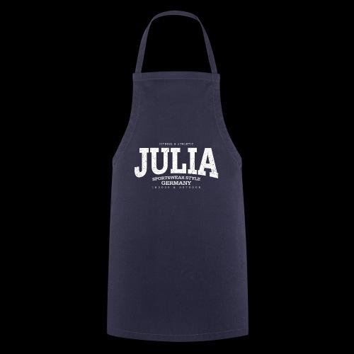 Julia (white oldstyle) - Kochschürze