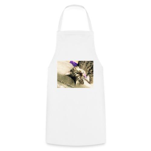 Gatito diseño de almuadilla para ratón - Delantal de cocina
