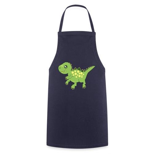 Dino voraz - Delantal de cocina