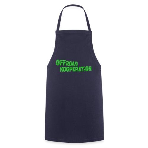offroad kooperation green - Kochschürze