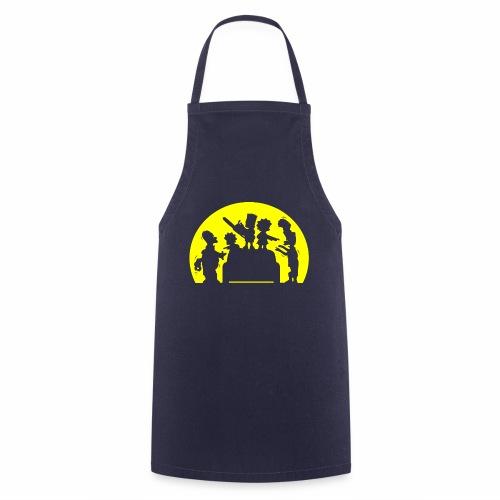 FAMILIA ZOMBIE - Delantal de cocina