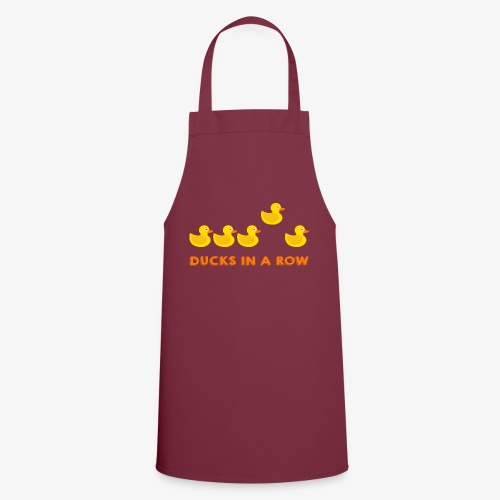 Ducks In A Row - Cooking Apron