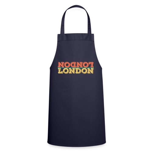 Vintage London Souvenir - Retro Upside Down London - Kochschürze