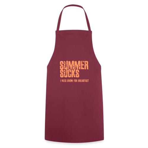 SUMMER SUCKS - Keukenschort