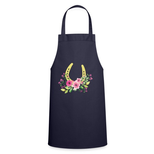 Blumen Hufeisen - Reitbekleidung - Kochschürze