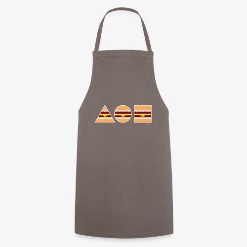 Graphic Burgers - Grembiule da cucina